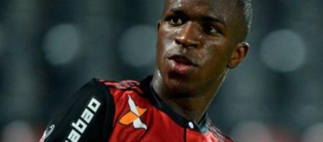 Vinicius Junior - Atleta do Flamengo