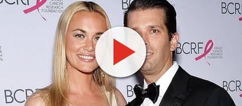 Vanessa Trump filed for divorce from Donald Trump Jr. - [Image: Wochit News / YouTube screenshot]