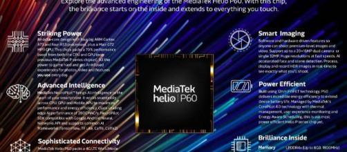 El Mediatek dio a conocer oficialmente en un evento en Beijing, la prima de gama media SoC Helio P60 que fue anunciado previamente en el MWC 2018