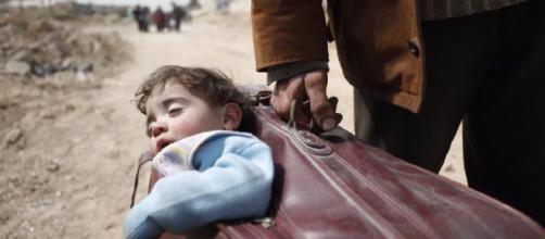 In fuga dall'inferno della Ghouta