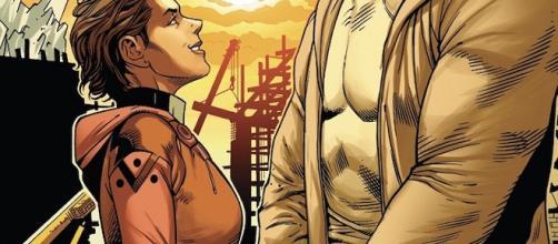Dos parejas de superhéroes más populares de todos los tiempos.