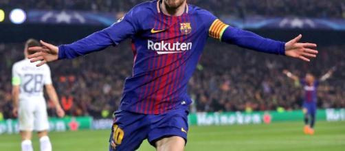 Messi lleva al Barcelona a cuartos de final de Champions - com.mx