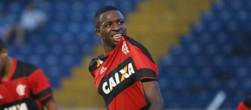 Garoto tem brilhado pelo Flamengo