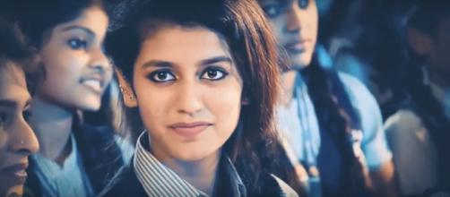 Priya Prakash Varrier — (Image via Zoom TV/ Youtube)