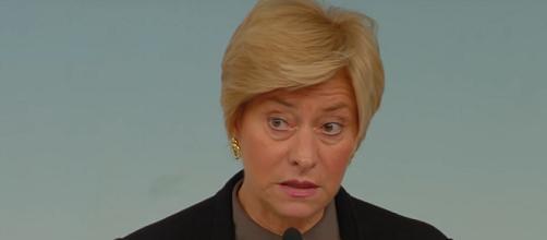 Roberta Pinotti, ministra della Difesa