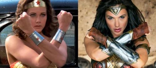 Wonder Woman - Cinema's Gal Gadot vs. TV's Lynda Carter - janksreviews.com