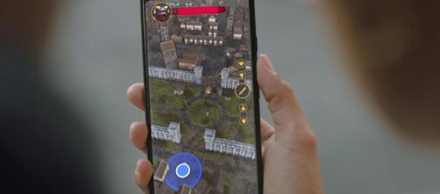 Google Maps y el motor de juego Unity.