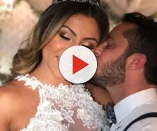 Thammy se casa com noiva e lua de mel acaba em polêmica