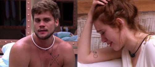 BBB18: Ana Clara e Breno têm forte discussão durante festa e fazem revelações.