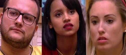 Diego, Gleici ou Jéssica: quem deve ser eliminado?