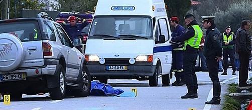 Duplo atropelamento ocorreu quando as vítimas faziam habitual caminhada