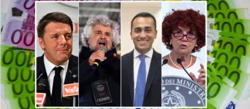 Ecco quanto guardagnano i politici italiani