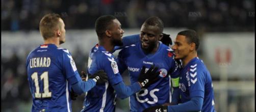 Football | Les photos du match Racing Strasbourg - Toulouse FC - dna.fr