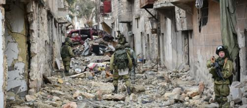 La guerra en Siria es un conflicto internacional con muchas ramificaciones