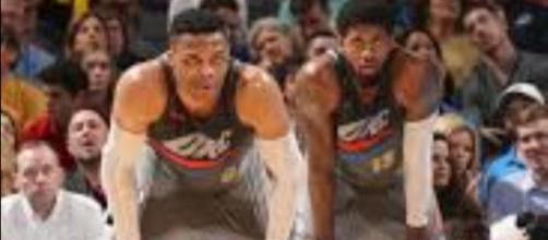 Russel Westbrook et Paul George