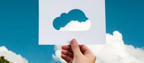 Una plantilla para 'nublamiento'