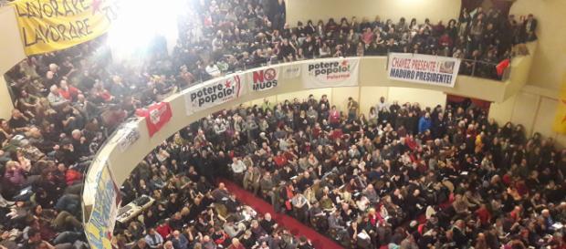 Assemblea di Potere al Popolo: in 1500 al Teatro Italia a Roma il 18 marzo