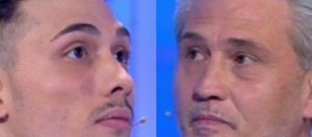 C'è Posta per Te, lite tra Paolo e il padre: 'Sei un bugiardo'.