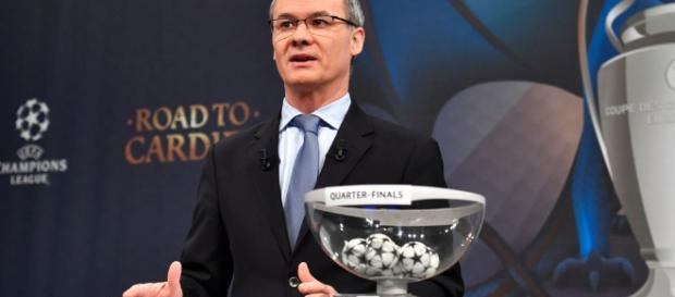 En directo: Sorteo de cuartos de final de la Champions League