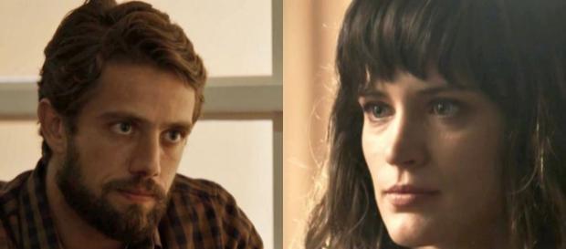 Imagem: Renato e Clara em 'O Outro Lado do Paraíso'.