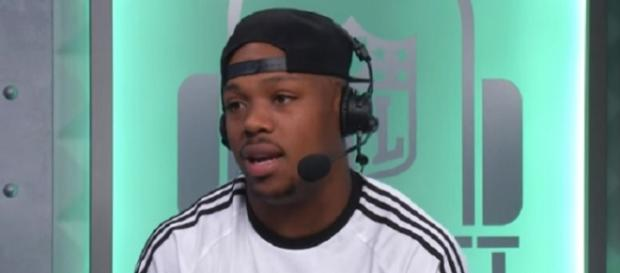 Jeremy Hill will provide depth to the Patriots. - [Image Credit: NFL /YouTube screencap]