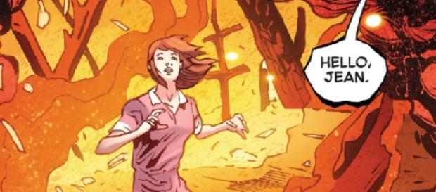 Una tumba vacía, otro fénix y una puerta misteriosa en Phoenix Resurrection # 3.