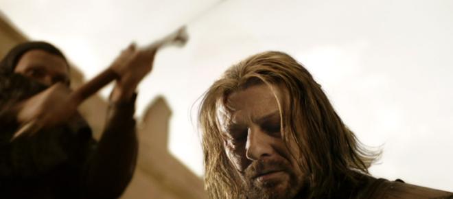 Últimas palabras del personaje Ned Stark antes de ser decapitado
