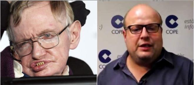 Conmoción ante los brutales insultos de Sostres al recién fallecido Hawking