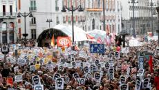 Cerca de 40.000 personas se manifiestan en Madrid en contra de la