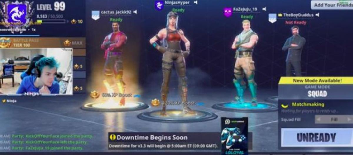 What Is Downtime In Fortnite Battle Royale Drake Y Ninja Tocan Fortnite En Twitch