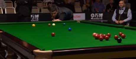 Joe Perry vs Ryan Day - Snooker Gibraltar Open 2018 QF - Image credit - Snooker Fans | YouTube