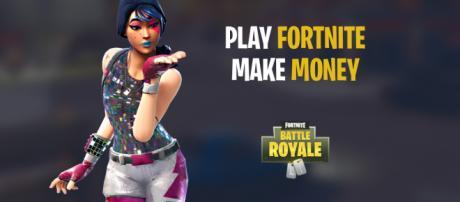 "Make money playing ""Fortnite Battle Royale."" Image Credit: Own work"