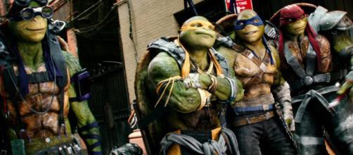 Es la nueva película de aventuras de las tortugas en los cines alemanes.