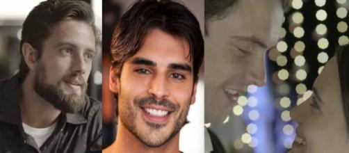 Festa com o elenco de ''O Outro Lado do Paraíso'' rende e Rafael Losso e Juliane Araújo são flagrados em clima de romance