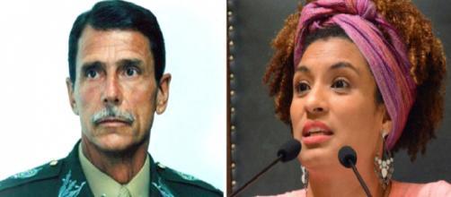 General do Exército se manifesta fortemente sobre a morte da vereadora do PSOL