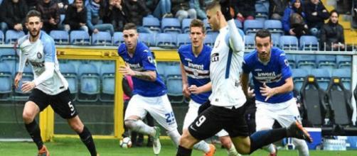 La rete di Icardi contro la Sampdoria su rigore