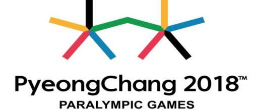 Logo parlimpiadi invernali PyeongChang 2018