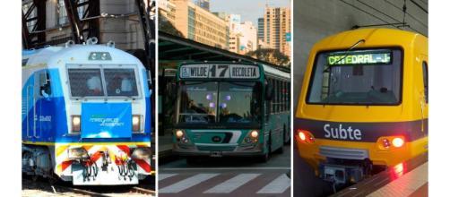 Lunes de caos: cómo es el paro de subtes, colectivos y trenes por ... - minutouno.com