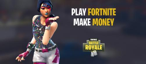 "Make money playing ""Fortnite Battle Royale."" Image Credit: Own work"
