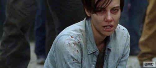 The Walking Dead 7x05: ¿qué pasó al final con Maggie y su bebé?