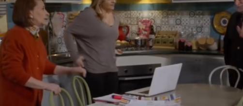 Una scena della soap 'Un posto al sole'