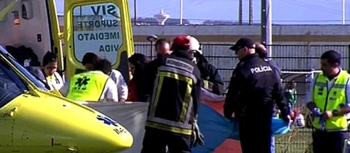 Vítima mais grave foi helitransportada para unidade de queimados de Coimbra