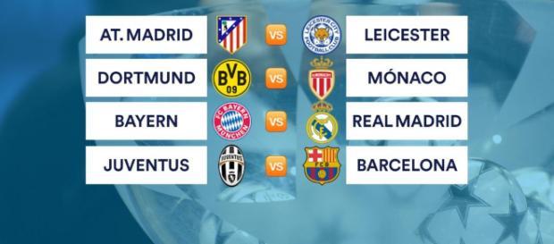 Atlético-Leicester, Bayern-Madrid y Juventus-Barça en cuartos de ... - eurosport.com