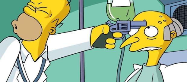 El otro final de ¿Quién mató al señor Burns? en Los Simpson.