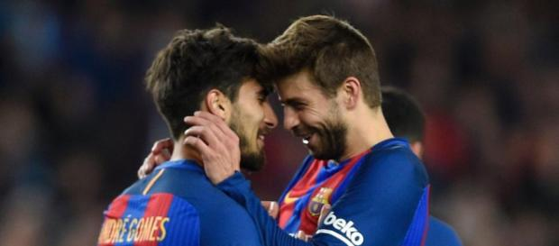 Gerard Pique laments 'intolerable' booing of Andre Gomes by ... - thenational.ae