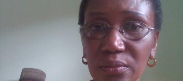 La candidate aux sénatoriales camerounaises Marie Jeanne Abega Ndjie