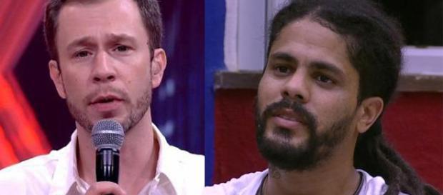 "Viegas conversa com brothers após passar mal no ""BBB18"" (Reprodução/GloboPlay)"
