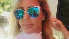 Vicki Gunvalson offends some fans by posing in front of historic gun wall