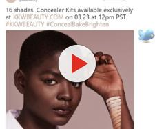 Kim Kardashian concealers epic fail advert mocked on Twtter - Image - KKW BEAUTY | Twitter