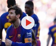 Leo Messi liderou Barça em mais uma vitória